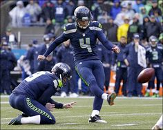 While it's easy to applaud the accomplishments of Richard Sherman, Russell Wilson, and Marshawn Lynch, Seahawks fans shouldn't forget Seattle's unsung hero -- kicker Steven Hauschka. Seahawks Fans, Seahawks Football, Seattle Seahawks, Football Team, Steven Hauschka, Richard Sherman, Seattle News, Superbowl Champions, Unsung Hero