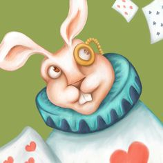 Haven't done a close up in a bit and really liked it for my other alice in wonderland characters. W is for White Rabbit #animalalphabets #kidlitart #childrensbook #illustration #artdirector #drawing #drawingchallenge #illustrator #alice #aliceinwonderland #whiterabbit