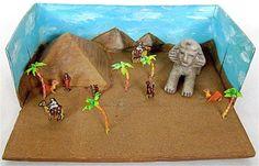 Trabajo maqueta pirámides egipcias