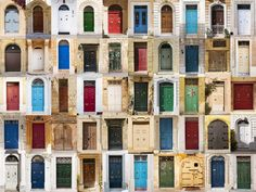 The doors from Malta. by fm_photography on 500px