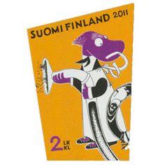 Tove Jansson, Mail Art, Textile Art, Finland, Illustrators, Paper Art, Folk, Stamps, Novels
