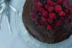 Summer Vegan Chocolate Cake