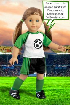 Giveaway – DreamWorld Collections Soccer Girl Outfit
