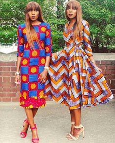 African Print Fashion dresses for women African Dresses For Women, African Print Dresses, African Print Fashion, Africa Fashion, African Attire, African Fashion Dresses, African Wear, African Women, Fashion Prints