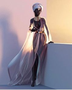 The website to view fashionable & stylish black girls Share a look with a friend! Black Girl Art, Black Women Art, Black Girl Magic, Black Girls, African Beauty, African Fashion, Art Afro, Black Artwork, Black Barbie