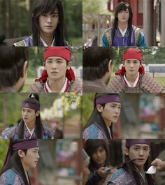Actor and singer Park Hyung-sik has met his match with his character in the KBS drama, 'Hwarang'. Korean Drama 2017, Korean Dramas, Do Jihan, Park Hyung Sik Hwarang, Go Ara, Korean Tv Shows, Best Kdrama, Park Seo Joon, Kbs Drama