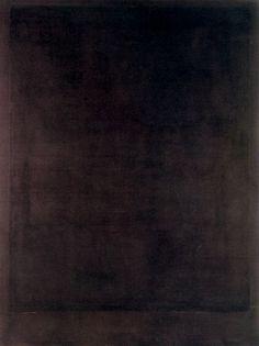 Mark Rothko - Black Form Painting No. 8 (1964)