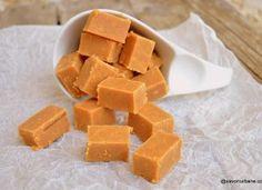 Caramele de casă cu lapte – rețeta de bomboane fondante cu zahăr ars Cheesecakes, Truffles, Fudge, Nutella, Sweet Potato, Creme, Fondant, Deserts, Dessert Recipes