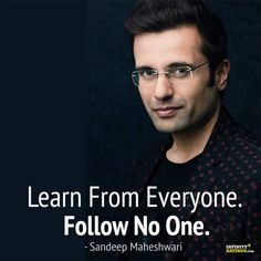 Top 10 Sandeep Maheshwari Motivational Quotes - Make Sure to Change Your Point of View about Life and Success – Infinity Sayings