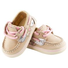 Sperry Top-Sider® Girls Leopard Print
