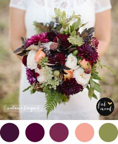 Fall purple wedding bouquet #weddingbouquet #fallbouquet #purplebouquet