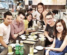 Dinner with #Jetstar friends
