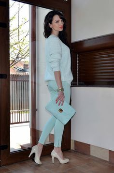 trendy-mint-work-outfits-21 - Styleoholic