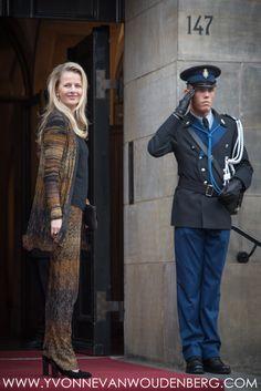 Prinses Beatrix, Prinses Mabel en Prinses Laurentien bij uitreiking Prins Claus Prijs 2015