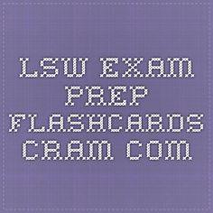 LSW exam prep Flashcards - Cram.com