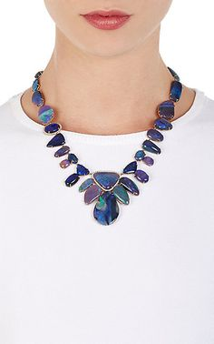 Irene Neuwirth Diamond Collection Mixed-Gemstone Necklace -  - Barneys.com