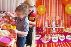 A Willy Wonka Birthday Party