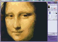 Mona Lisa Segmation - the art of pieceful imaging www.segmation.com
