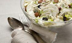 Kitchenette — Fenyklový salát s modrým sýrem Kitchenette, Love Food, Potato Salad, Cabbage, Salads, Clean Eating, Meals, Baking, Vegetables