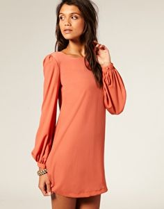 long sleeve dress.