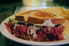 Wisconsin is known for great cheese; Milwaukee is the home of excellent rye bread; McBob's makes some of the earth's most delicious corned beef. Is it any wonder the Reuben sandwich is extraordinary?