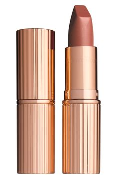 Charlotte Tilbury K.G Fallen from the Lipstick Tree Charlotte Tilbury - Bloomingdale's Coral Lipstick, Lipstick Shades, Lipstick Colors, Red Lipsticks, Lip Colors, Makeup Lipstick, Glossy Lipstick, Bridal Lipstick, Makeup Products