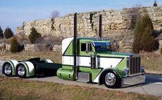 Peterbilt Truck found on pintrest