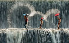 Kids playing - Bali