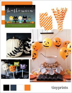 What's #Halloween without creative costumes and lots of sweet treats! Here are some simple and stylish ideas to inspire you in your party planning.
