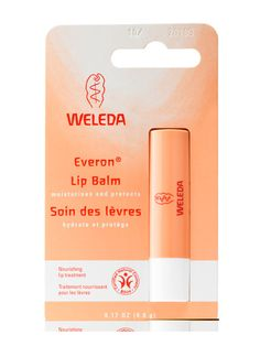 Weleda Everon Lip Balm-I got hooked on it from my friend Polina