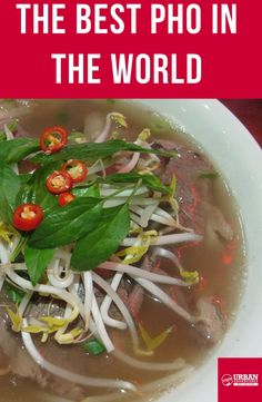 Discover where to get the best Pho in Vietnam with our guide Hoi An, Vietnam Travel, Pho, Good Things