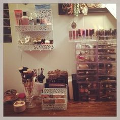 how to store your makeup