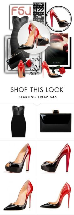 """FSJ Shoes I/2"" by zeljanadusanic ❤ liked on Polyvore featuring M.A.C, Mason by Michelle Mason, fsjshoes and fsj"