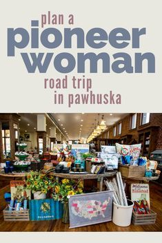 Look for Ree Drummond at the Pioneer Woman Mercantile before exploring Pawhuska with this step-by-step itinerary of top area attractions, mouthwatering restaurants and cozy inns. Oh The Places You'll Go, Places To Travel, Travel Destinations, Travel Oklahoma, Ponca City Oklahoma, Tulsa Oklahoma, Kansas City, Pawhuska Oklahoma, Ree Drummond