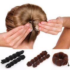 Famous Brand Zebery Magic Foam Sponge Hair disk Hair curlers Device tools For Women