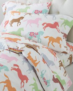 Pony Up Percale Bedding