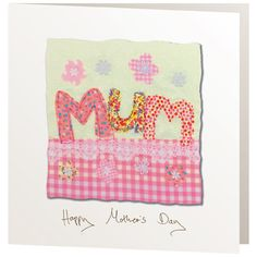 Handmade Cards - R112 Happy Mother's Day