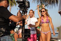 """Aggro Santos - while making video """"So Sexy""""  (photo by Zuzi Polakova)"""