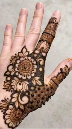 Henna Tattoo Designs Simple, Floral Henna Designs, Mehndi Designs Feet, Latest Bridal Mehndi Designs, Full Hand Mehndi Designs, Henna Art Designs, Modern Mehndi Designs, Mehndi Designs For Beginners, Mehndi Designs For Girls