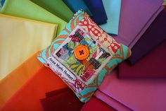 Patchwork Selvage Pin Cushion Giveaway here!   Find Hundreds of the Latest Sweepstakes & Contests Updated Daily. Start Winning Cash & Prizes Today! http://sweepstakes13.com/register