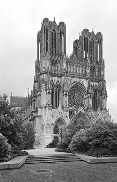 Facade -Reims Cathedral   Flickr - Photo Sharing!