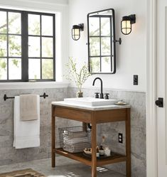 Beautiful bathroom style tips. Modern Farmhouse, Rustic Modern, Classic, light and airy bathroom design some a few ideas. Master Bathroom makeover a few tips and bathroom remodel recommendations. Single Bathroom Vanity, Bathroom Sets, Modern Bathroom, Master Bathrooms, Bathroom Vanities, Small Bathroom Ideas, Minimal Bathroom, Bathroom Black, Design Bathroom