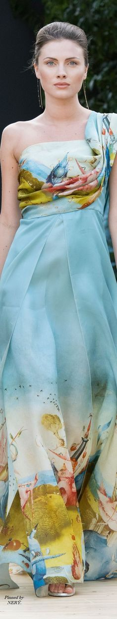 Addy van den Krommenacker Couture Fall 2016