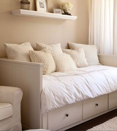white, light bedroom