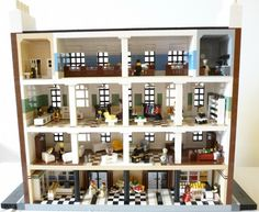 Barrie's Department Store: A LEGO® creation by . Snaillad . : MOCpages.com