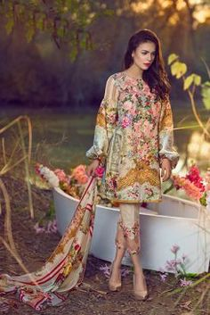 Asifa Nabeel Lawn Collection 2017   PK Vogue