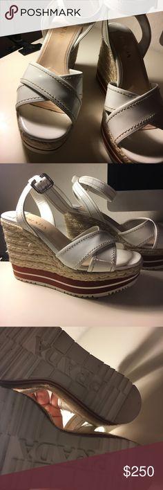 PRADA Wedges OBO. Prada Shoes Heels