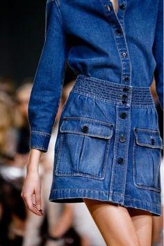 whisper blog: saia jeans (Chloé runway) @whisperbysara