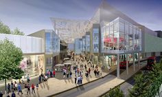 Third, it would be a big opportunity to have our own kiosk in Westfield. (look next picture) London Shopping Centre, Shopping Center, Distribution Strategy, Mall Facade, Louvre, Street View, Architecture, Building, Places