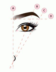 When shaping, use your tweezers or a pencil to identify the heads and tails of your eyebrows. To figure out where your arch lies, line it up diagonally from your nostril to the center of your eye. Learn more about plucking, trimming, and shaping your How To Do Eyebrows, Eyebrows On Fleek, How To Shape Eyebrows For Beginners, Makeup Tips, Beauty Makeup, Makeup Primer, Threading Eyebrows, Plucking Eyebrows Tips, Pluck Eyebrows